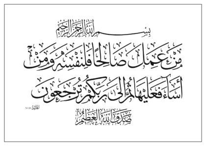 Al-Jathiyah 45, 15