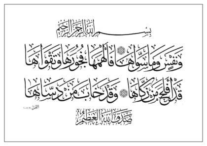 Ash-Shams 91, 7-10