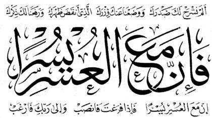 Al-Sharh 94, 1-8