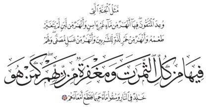15 ،47 محمد